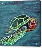 Slate Painting Acrylic Print