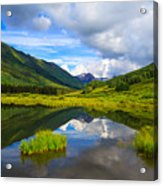 Slate River At Crested Butte Colorado Acrylic Print