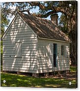 Slave Cabin Acrylic Print