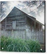 Slave Cottage Acrylic Print