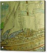 Slave Ship Acrylic Print