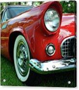 Sleek Red Acrylic Print