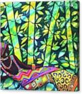 Sleep To Dream Silkpainting Belize Acrylic Print