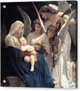 Sleeping Baby Jesus Acrylic Print