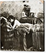 Sleeping Beauty, C1900 Acrylic Print