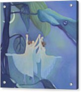 Sleeping Fairies Acrylic Print