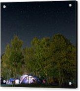 Sleeping Under The Stars Acrylic Print