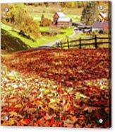 Sleepy Hollow - Pomfret Vermont-1 Acrylic Print