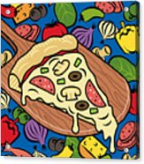 Slice Of Pie Acrylic Print