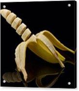 Sliced Banana Acrylic Print