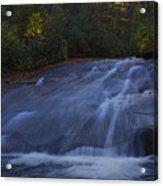 Sliding Rock Falls Acrylic Print