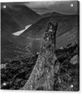 Slievenaglogh To Ben Crom. Acrylic Print