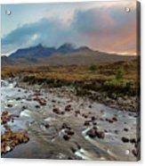 Sligachan - Isle Of Skye Acrylic Print