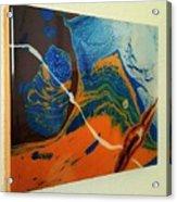 Slime, Roping A Primorbial Amoeba Acrylic Print