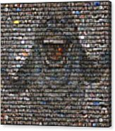 Slimer Mosaic Acrylic Print
