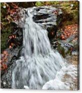Slippery Rock Falls Fdr State Park Ga Acrylic Print