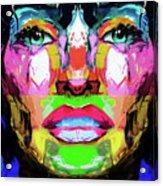 Split Personality By Nixo Acrylic Print