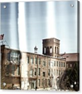 Slit Scan 3 Acrylic Print by Patrick Biestman