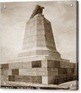 Sloat Monument On The Presidio Of Monterey Circa 1910 Acrylic Print