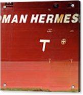 Sloman Hermes Detail With Anchor 051718 Acrylic Print
