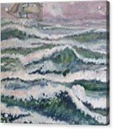 Sloop At War Acrylic Print