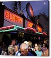 Sloppy Joes Bar Acrylic Print