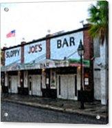 Sloppy Joe's Bar Key West Acrylic Print