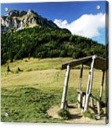 Slovak Mountains Acrylic Print
