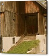 Slovenian Barn Acrylic Print