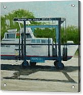 Slow  Boat Acrylic Print