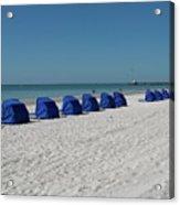 Slow Morging At The Beach Acrylic Print