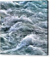 Slow Motion Rapids Acrylic Print