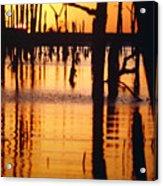 Slue Sunset Acrylic Print
