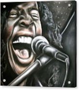 Sly Stone Acrylic Print