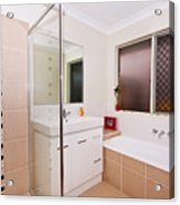 Small Bathroom Acrylic Print