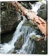 Small Beautiful Waterfalls Acrylic Print by Tom Johnson