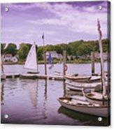 Small Boat Day Acrylic Print