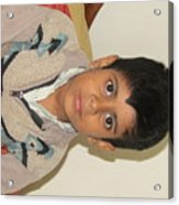Small Child Images Acrylic Print