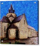 Small Church 3 Acrylic Print