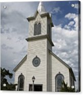 Small Church Acrylic Print