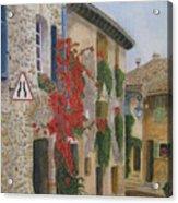 Small French Village Acrylic Print