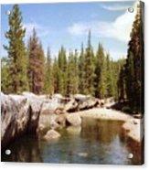 Small Lake Sierra Nevada Acrylic Print