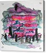 Small Landscape48 Acrylic Print