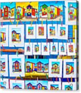 Small Paintings For Sale In La Boca Area Of Buenos Aires-argentina  Acrylic Print