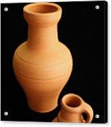 Small Pottery Items Acrylic Print