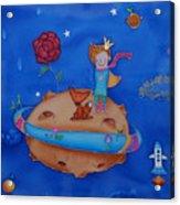 Small Prince Acrylic Print