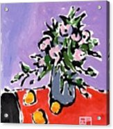 Small Still Life Acrylic Print