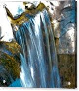 Small Stop Motion Waterfall Acrylic Print