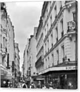 Small Street In Paris Acrylic Print