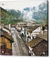 Small Town Ecuador Acrylic Print